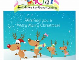 Merry Christmas Klinik Gigi Anak Kidz Dental Care