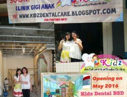 Opening Soon Klinik Gigi Anak di BSD