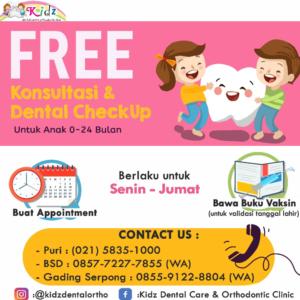 Free Konsultasi dan Dental Check Up