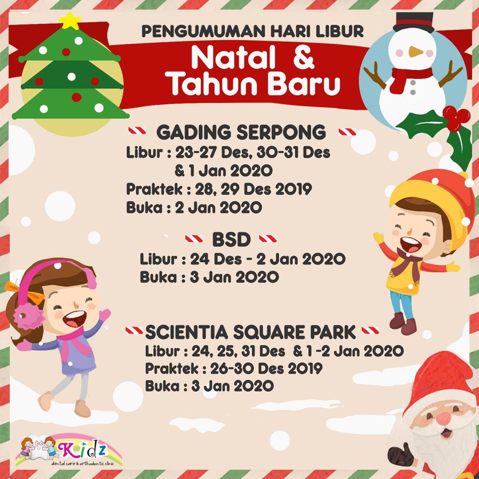 Natal dan Tahun Baru 2