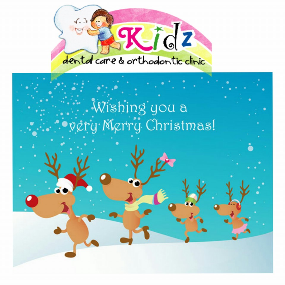 Merry Christmas Klinik Gigi Anak Kidz Dental Care