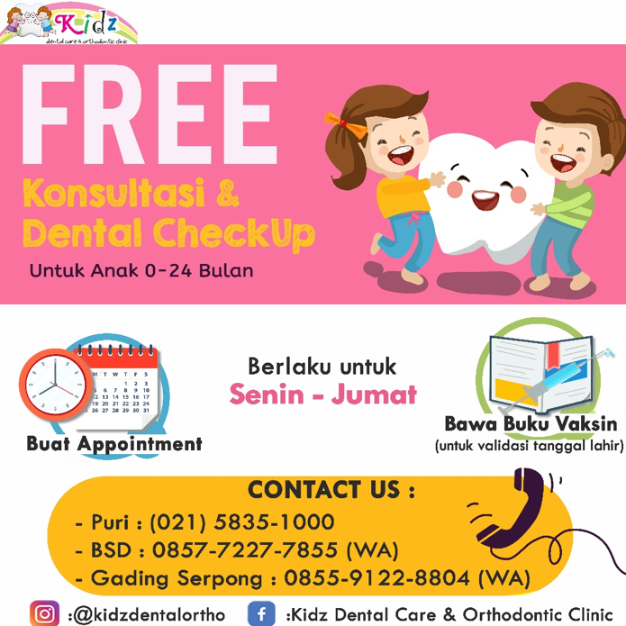 Free Konsultasi dan Dental Check Up